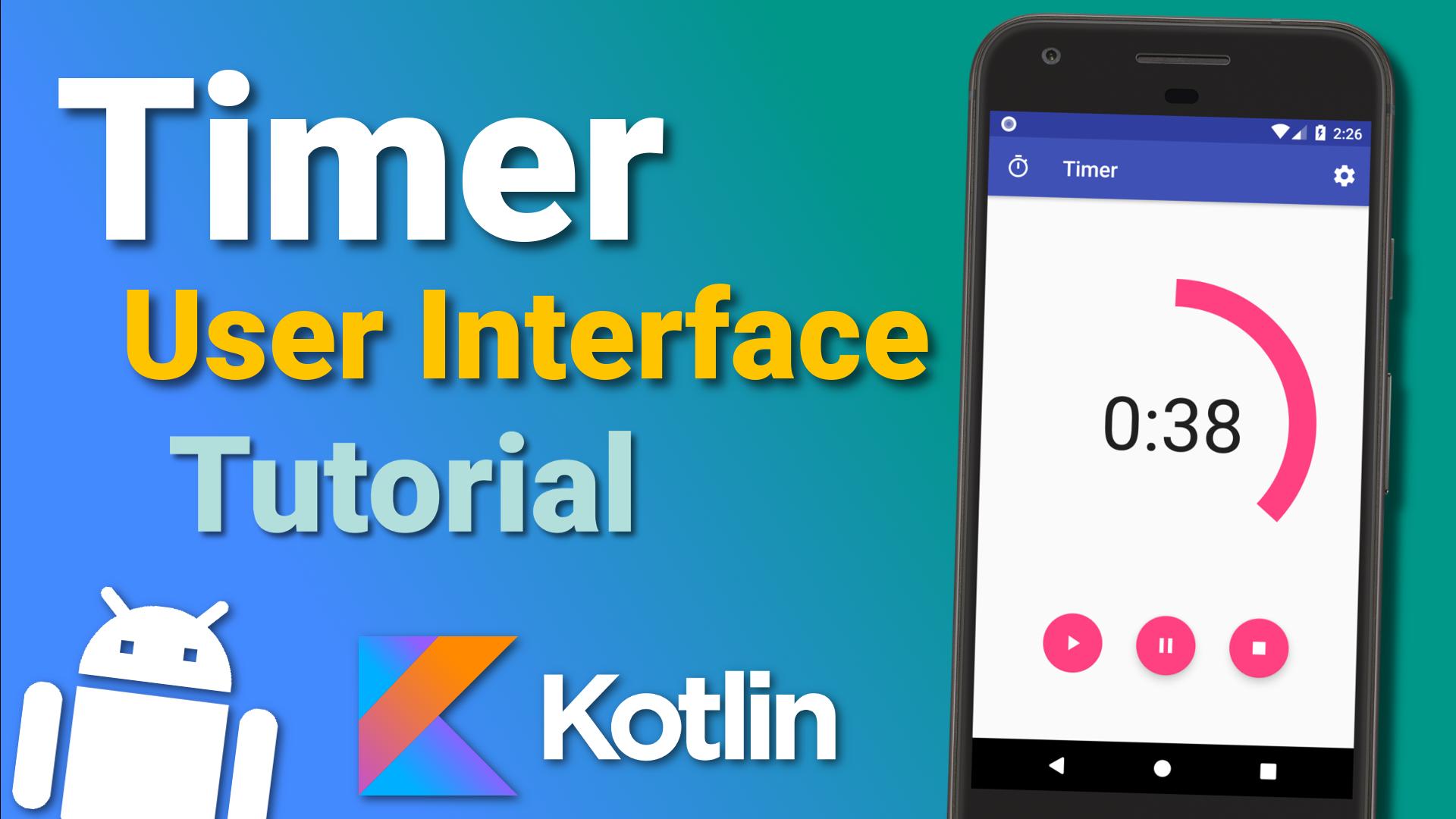 Make a Timer App (Ep 1)