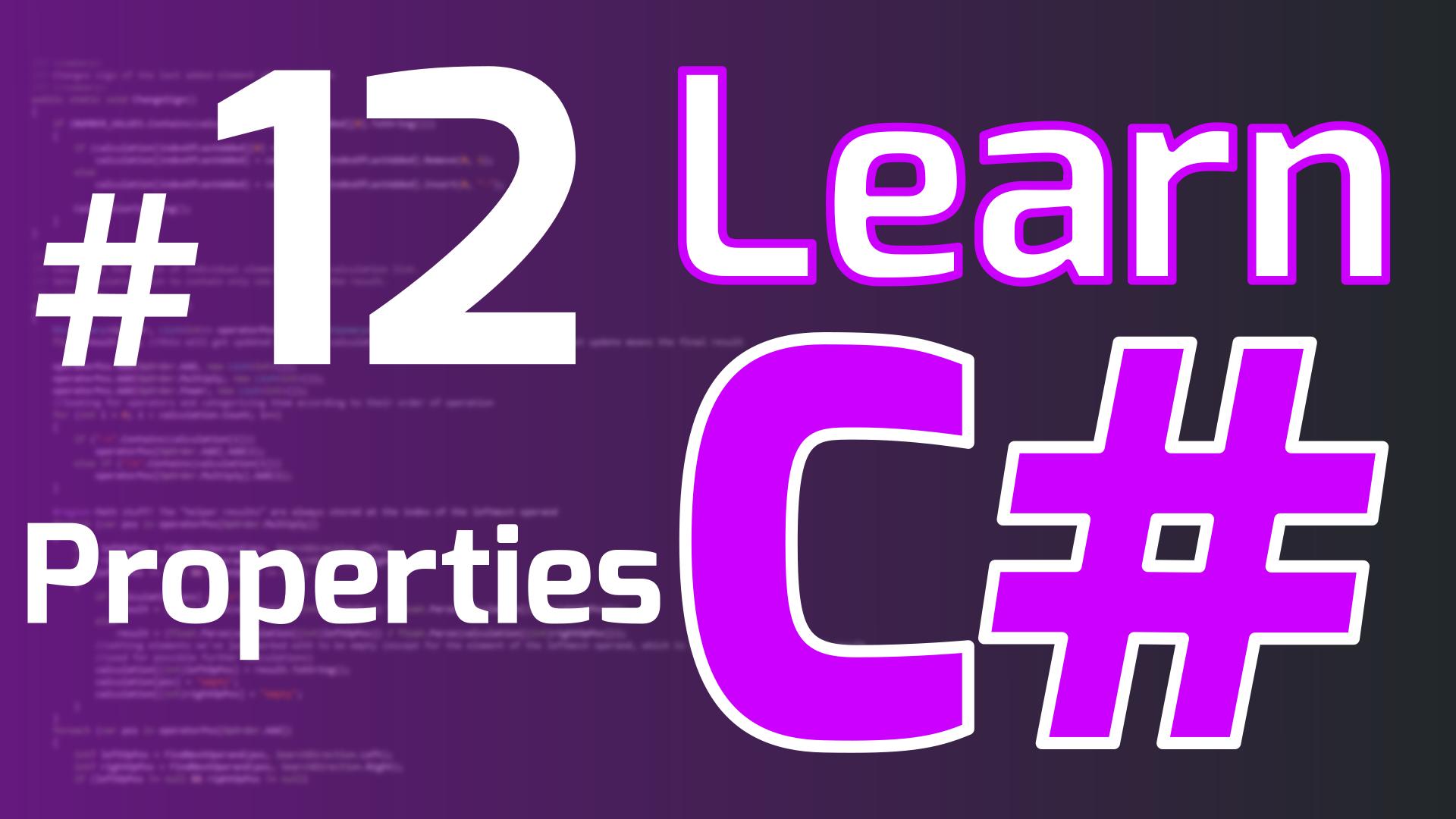 LearnCSharp-Part12