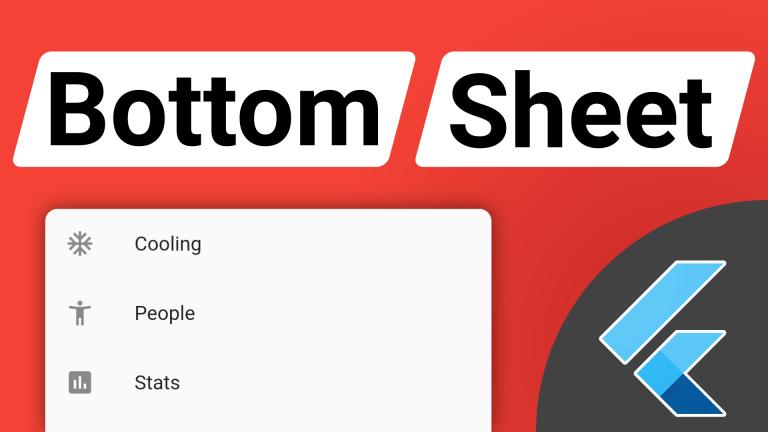 Flutter Modal Bottom Sheet