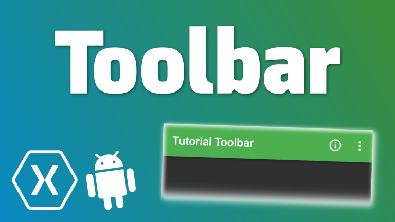 XamarinAndroid-Toolbar
